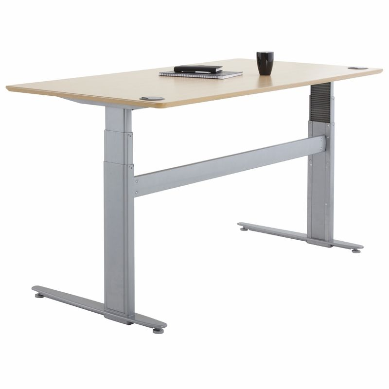 Uplift 448 Laminate Electric Sit Stand Desk Shop Ergonomic Desks At The Human Solution Design Bureau