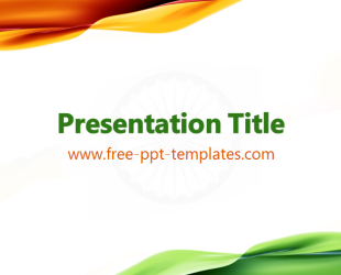 India powerpoint template is a white template with green and orange india powerpoint template is a white template with green and orange details which you can use toneelgroepblik Choice Image