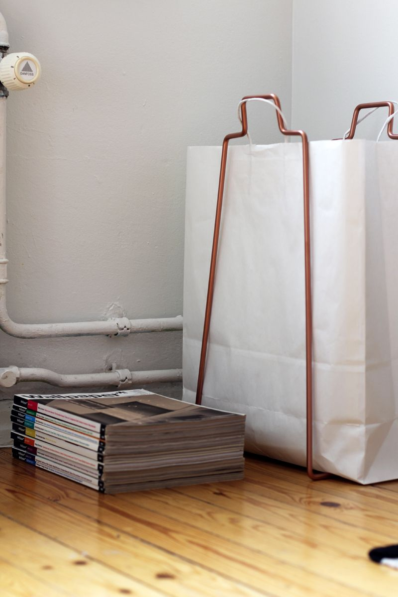 paperbag holder by everyday design