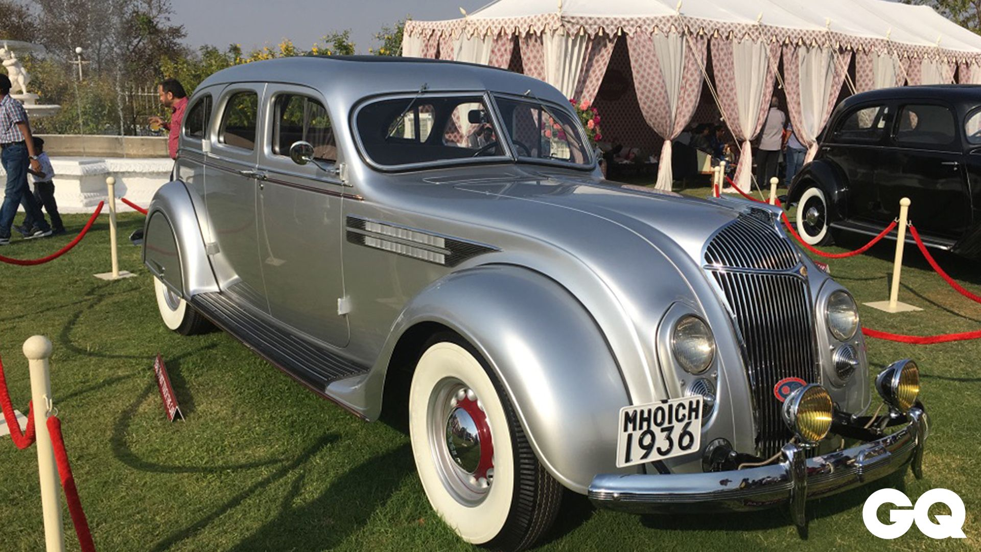 India's most prestigious vintage car show is candy land