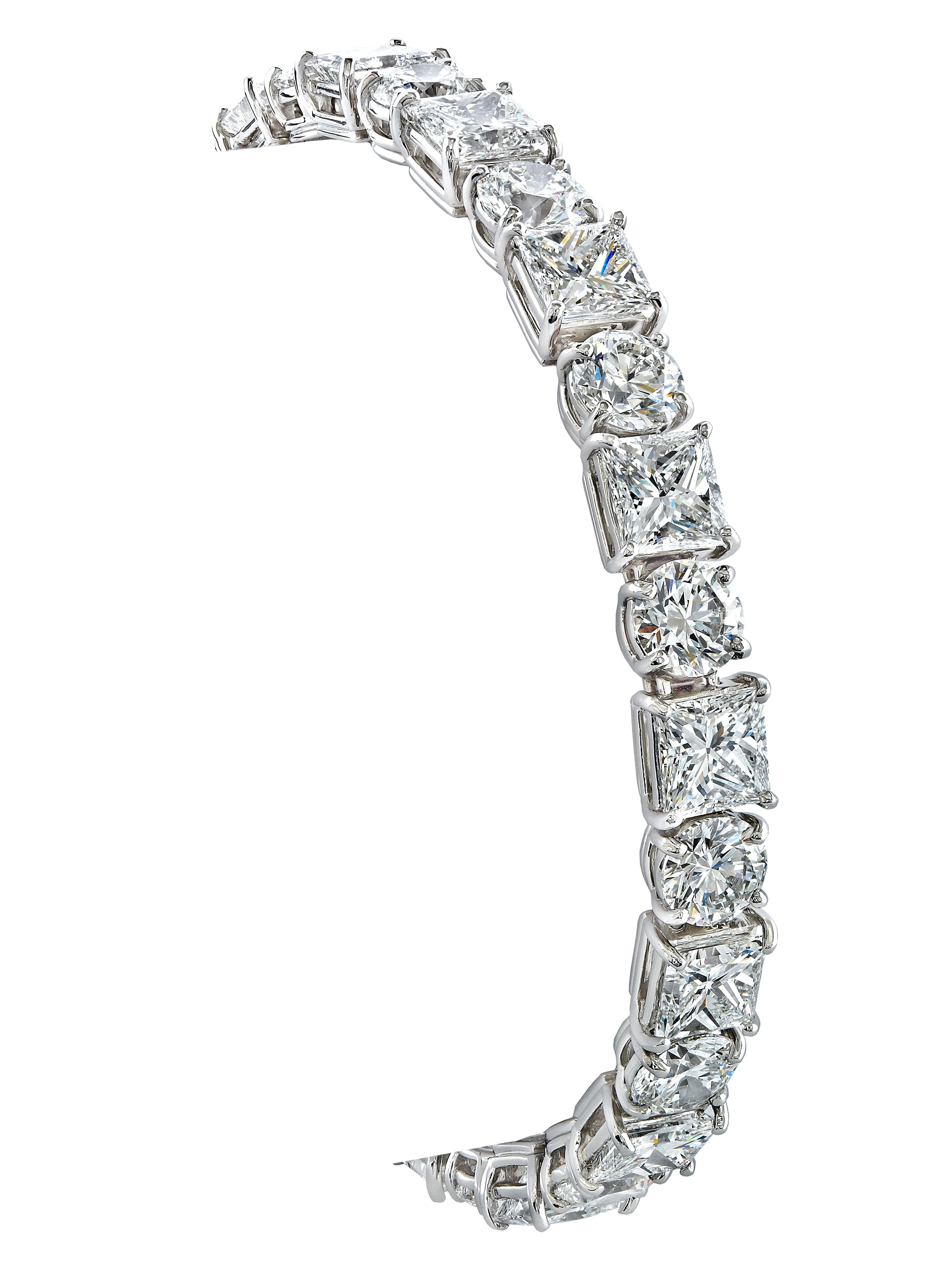 Gordon James Diamond Tennis Bracelet featuring Round Brilliant