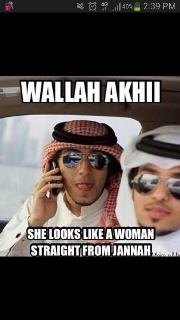weird arabic