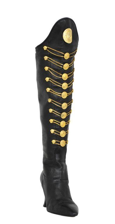 VERSACE MEDUSA BOOTS | Designer boots