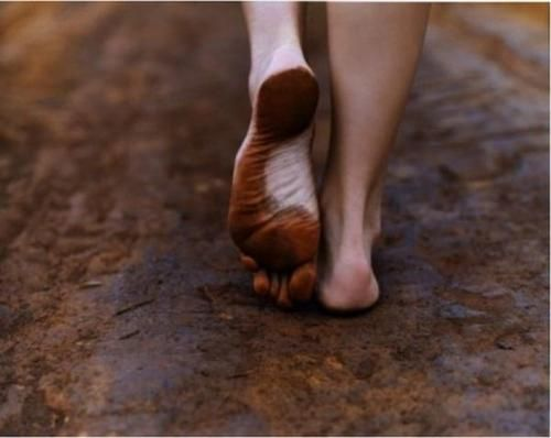 """""""Walk as if you are kissing the Earth with your feet."""" ~Thich Nhat Hanh"""