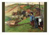 Gauguin  Breton Shepherd
