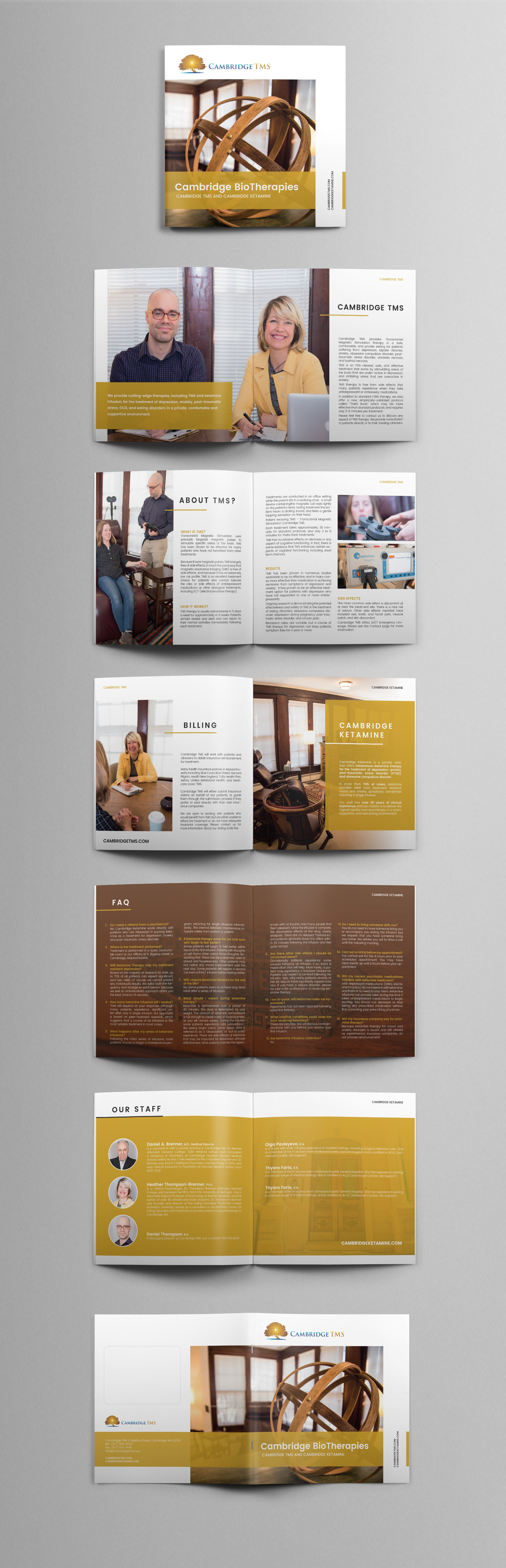 Design  By N I N A   Brochure Design  Clean And Contemporary
