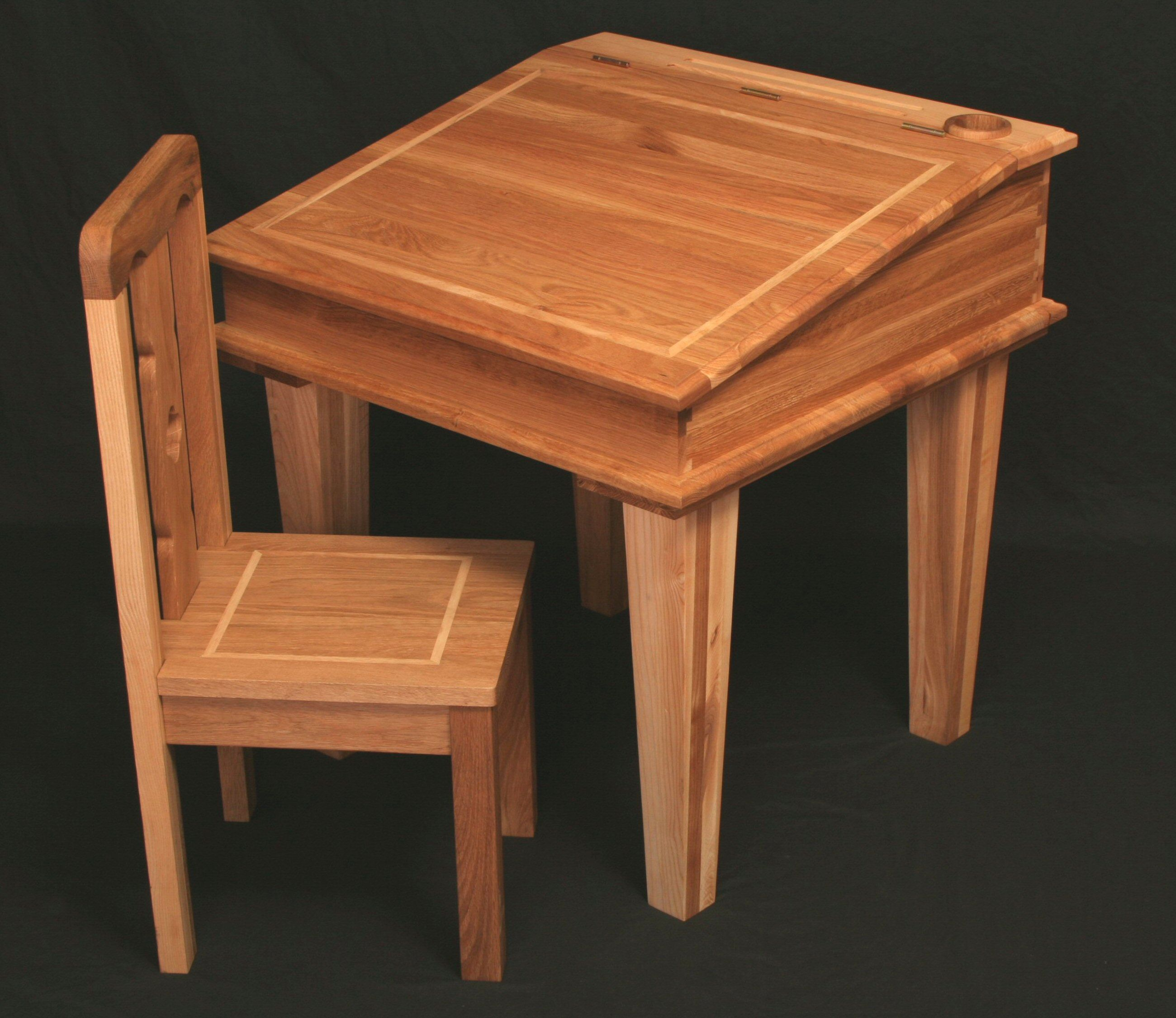 Kids Wooden Desk Furniture Captivating Childrens Wooden Table And