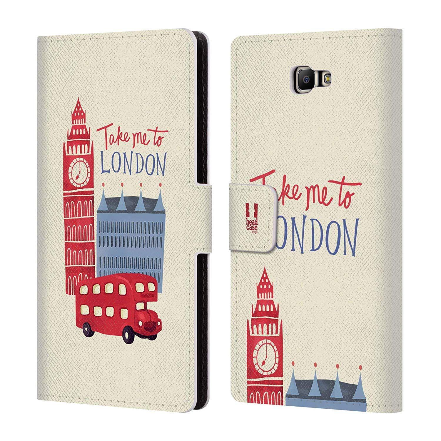 detailed look adae2 d4035 Amazon.com: Head Case Designs Union Jack London Best Leather Book ...