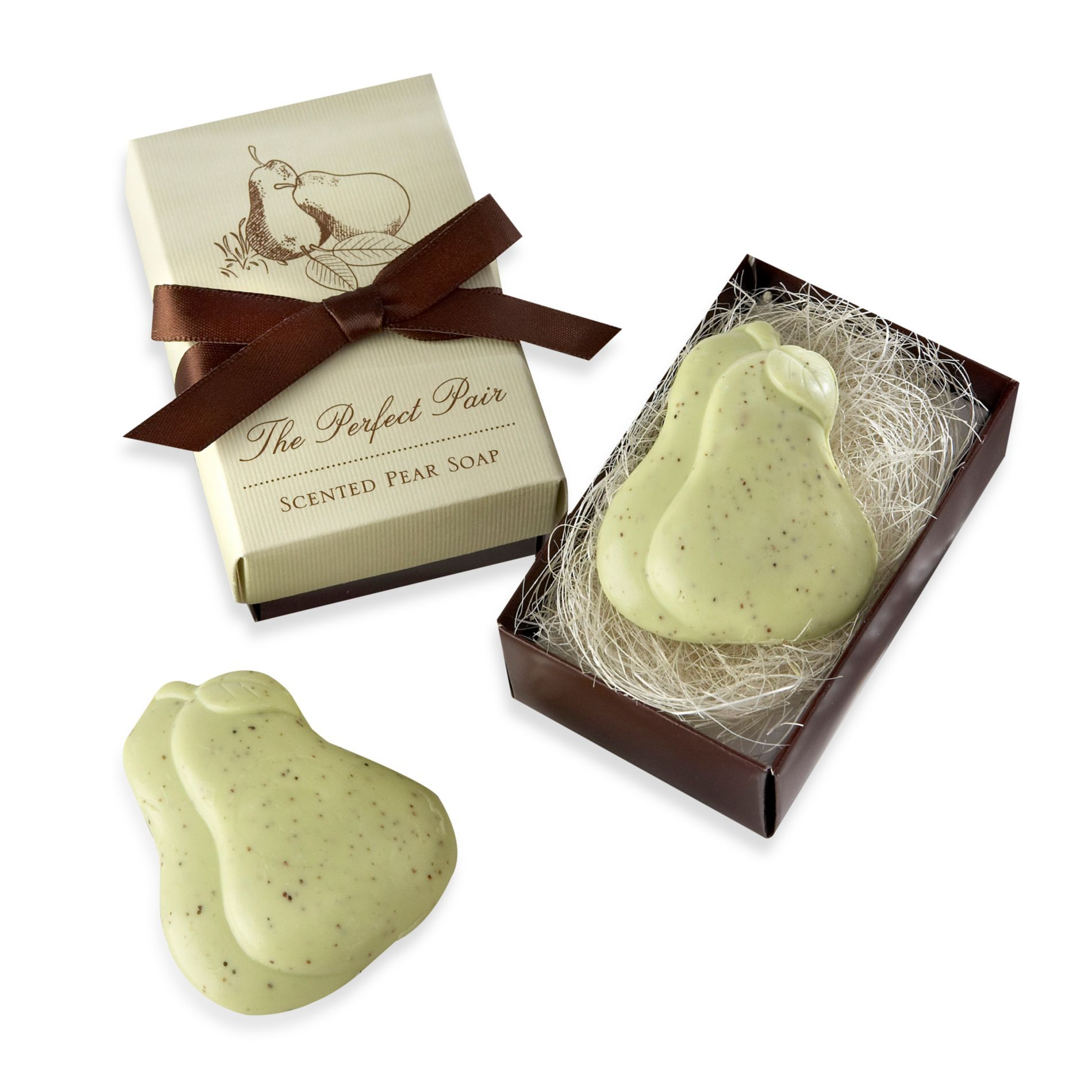 Buy Kate Aspen Perfect Pair Pear Shaped Soaps Wedding Favor From Bed