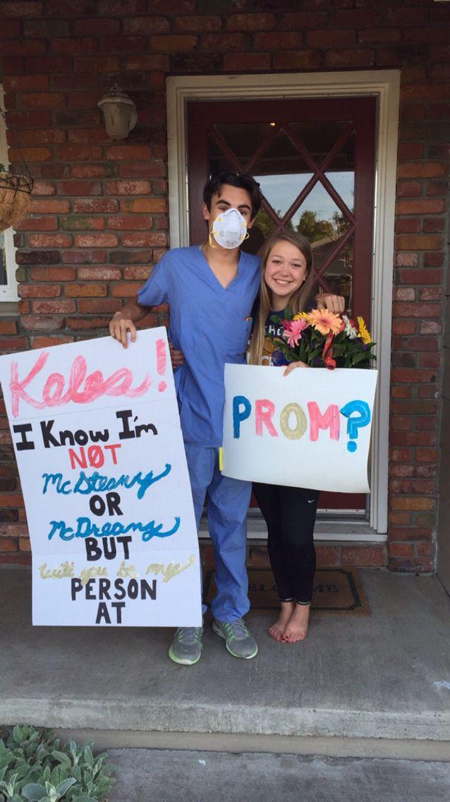 Grey S Anatomy Promposal Cute Homecoming Proposals Cute Prom Proposals Homecoming Proposal