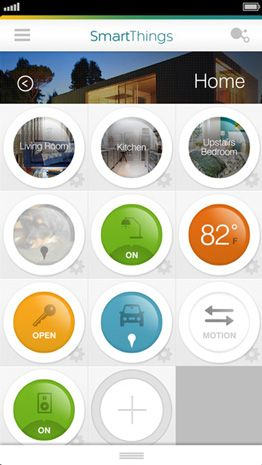 SmartThings: Everyday Things - Control things like lights, fans