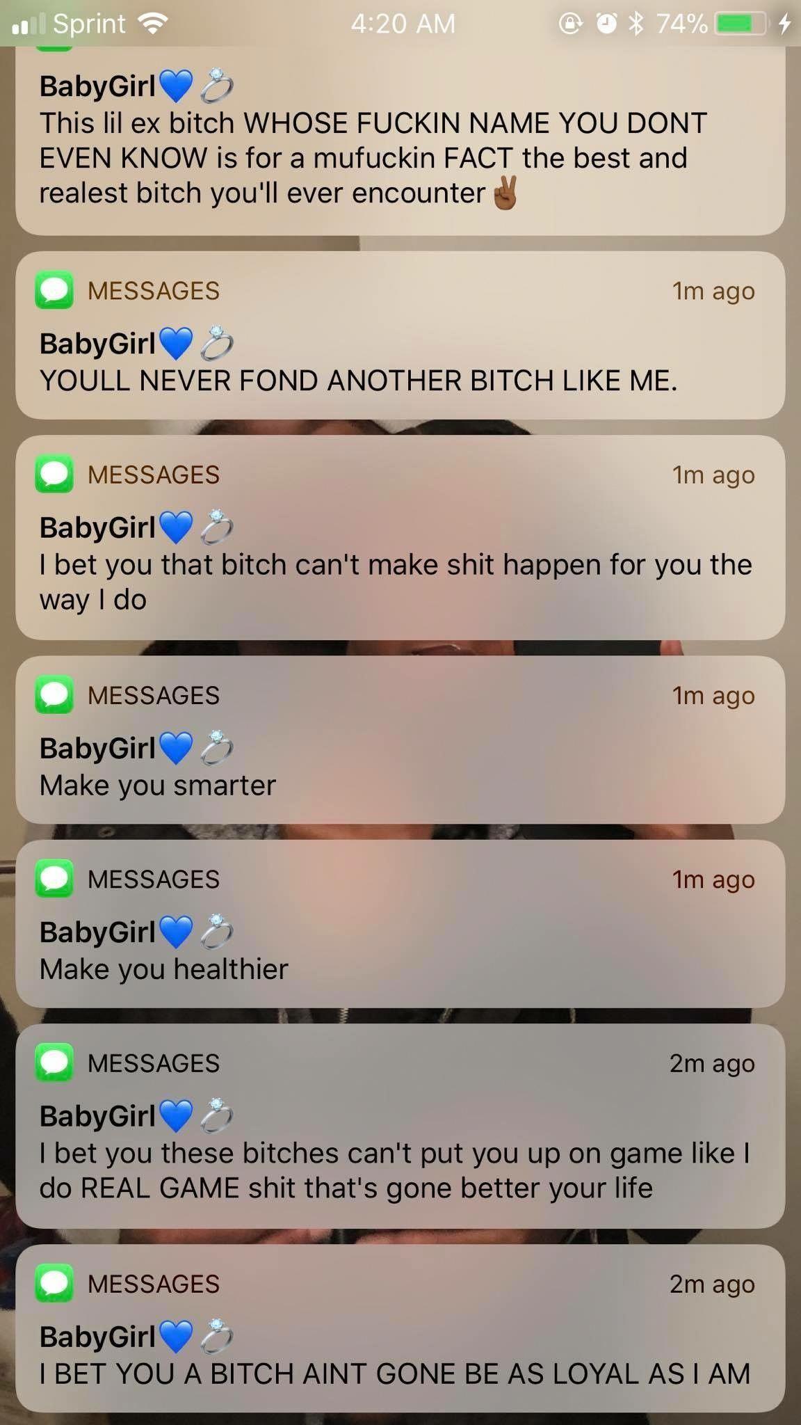 I want a bad girl baby bad