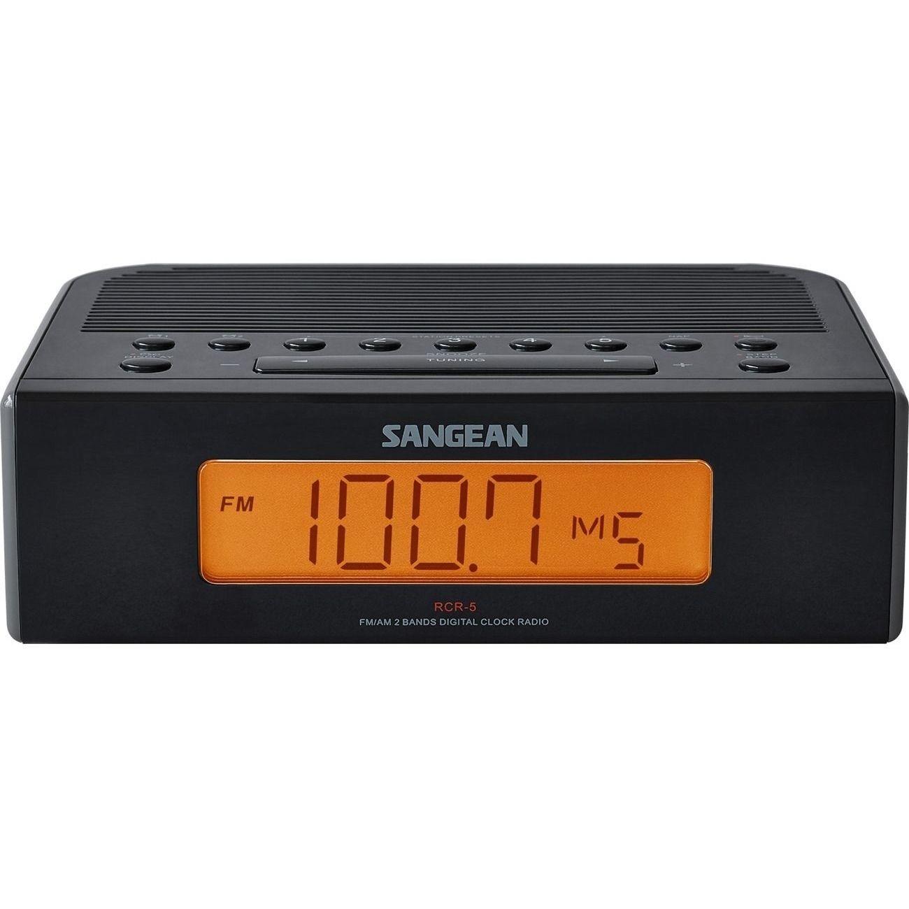 Sangean RCR-5 FM/AM Digital Tuning Clock Radio