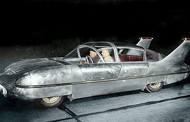 Borgward Traumwagen: aluminum the miracle of the future -  ##BorgwardTraumwagen ##BorgwardTraumwagenCars