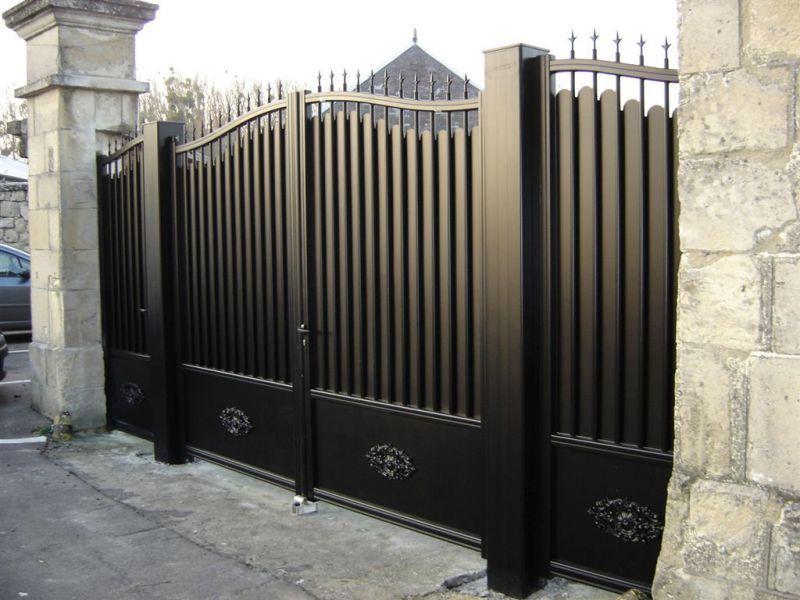 Pingl par audrey perelli sur portail portillon for Portail plus portillon