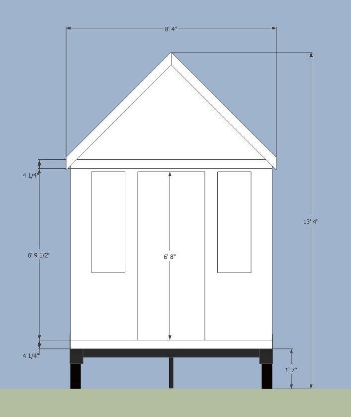 Tiny House Measurements Tiny House Trailer Tiny House Tiny House Plans