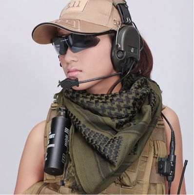 Hunting Army Military Tactical Keffiyeh Shemagh Desert Arab Scarf Shawl  Neck Cover Head Wrap Hiking Airsoft Shooting Accessories-ROYAL PROTECTION 046d2f2ae9f