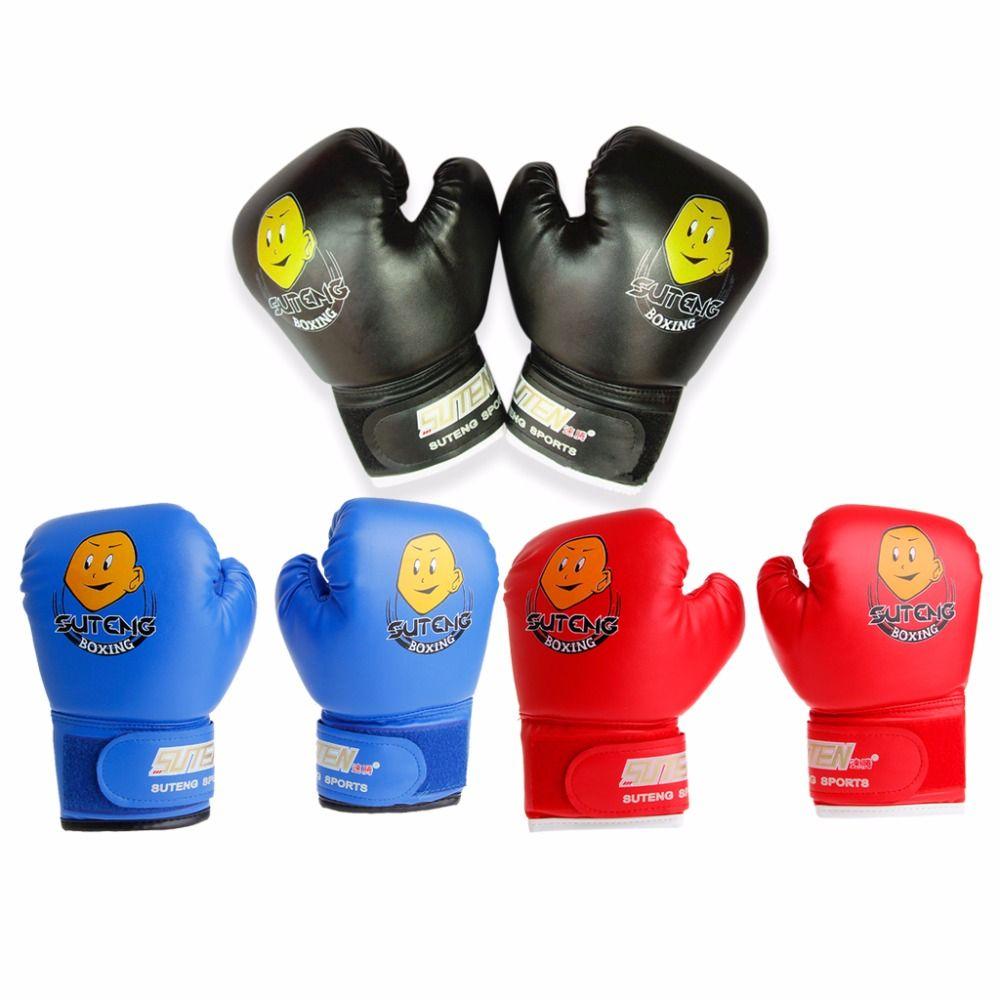 Wonzone Half Finger Taekwondo Training Boxing Gloves Taekwondo//Muay Thai Training//Punching Bag Gym Half Mitts Sparring Gloves