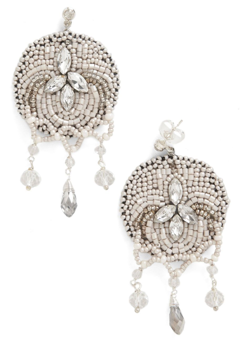 Bead Our Guest Earrings - ModCloth