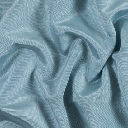 Cloud Blue Cotton and Polyester Faille Fabric by the Yard | Mood Fabrics
