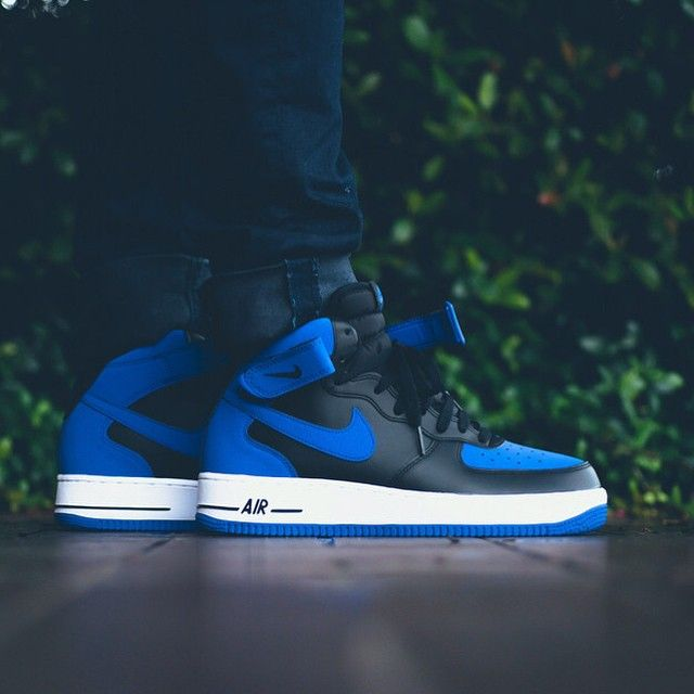 nikesportswear Air Force 1 Mid '07 'Royal Blue' The iconic ...