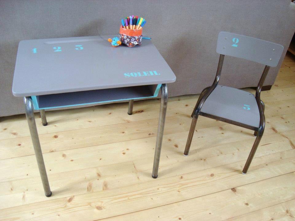 Ensemble bureau dcolier et sa chaise bureau dcolier