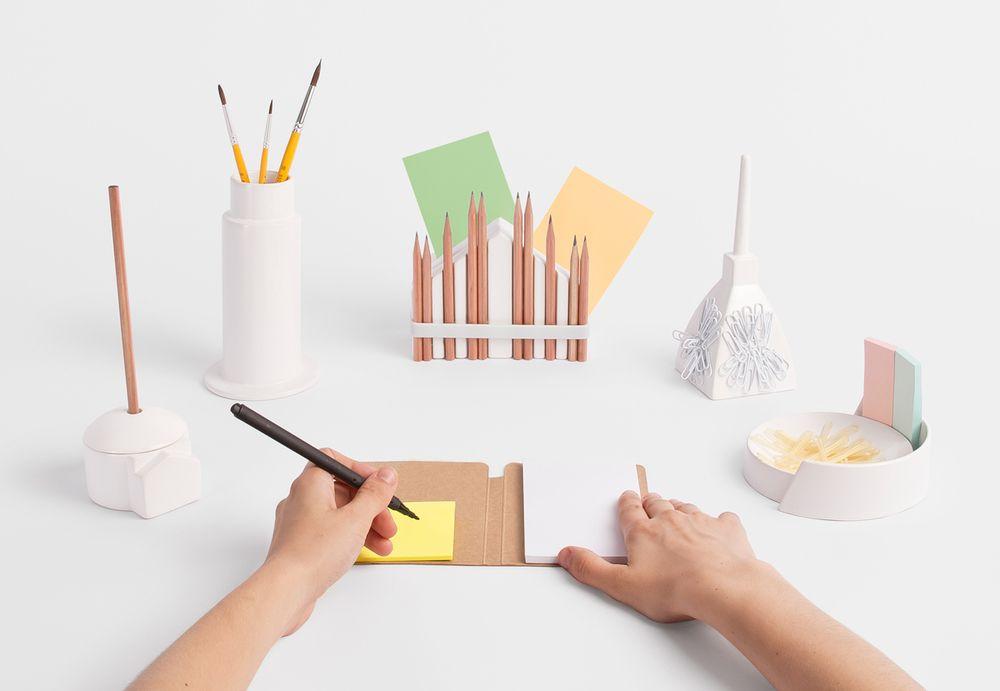 Souvenirs Collection For Bozu Workshop Design Desk Set Gift For Architect