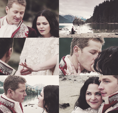 OUAT- Prince Charming and Snow White. I still can't believe they're engaged in real life <3