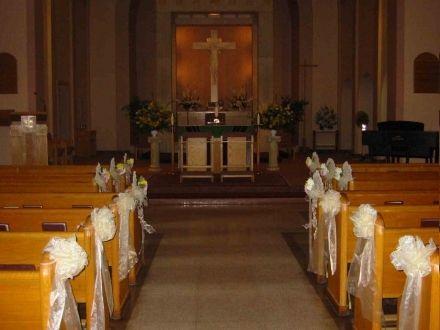 Best Simple Church Wedding Decorations