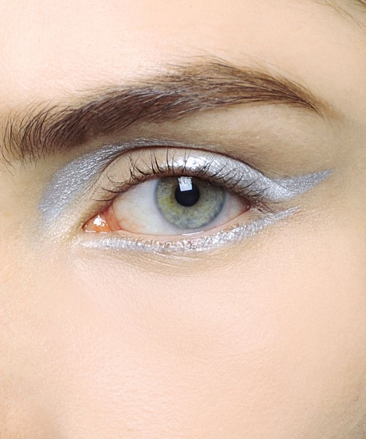 Silver. | style file | Pinterest | Dior, Eye and Makeup