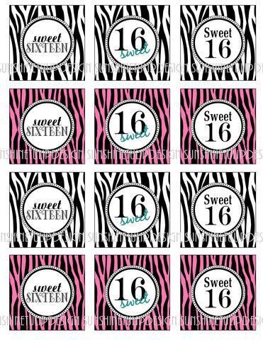 Products Zebra Birthday Birthday Diy Birthday Printables