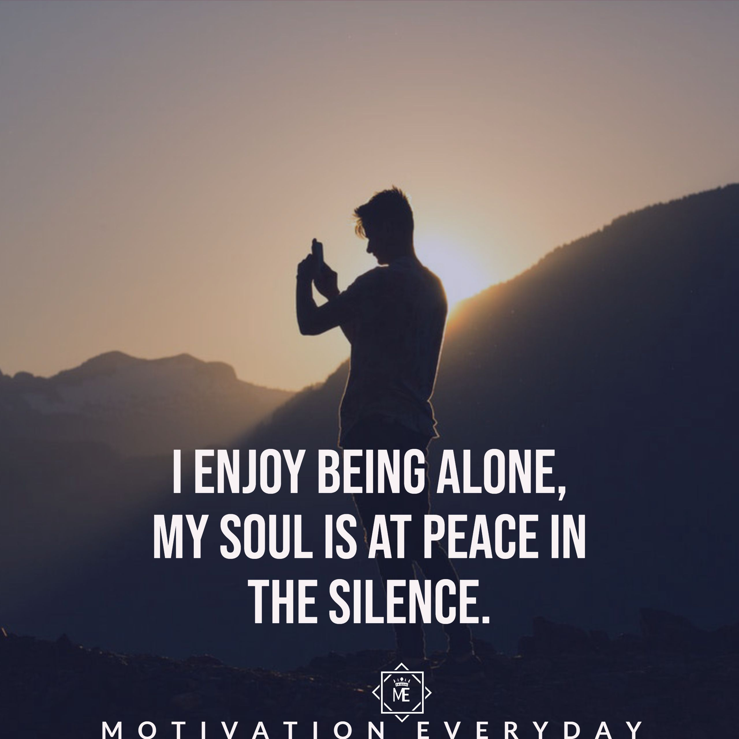 Alone But Happy Motivation Passion Quotes Cool Words