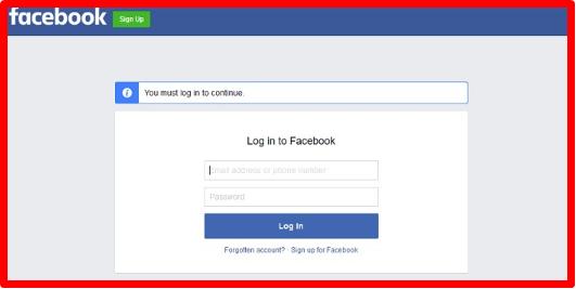 Login facebook desktop How to