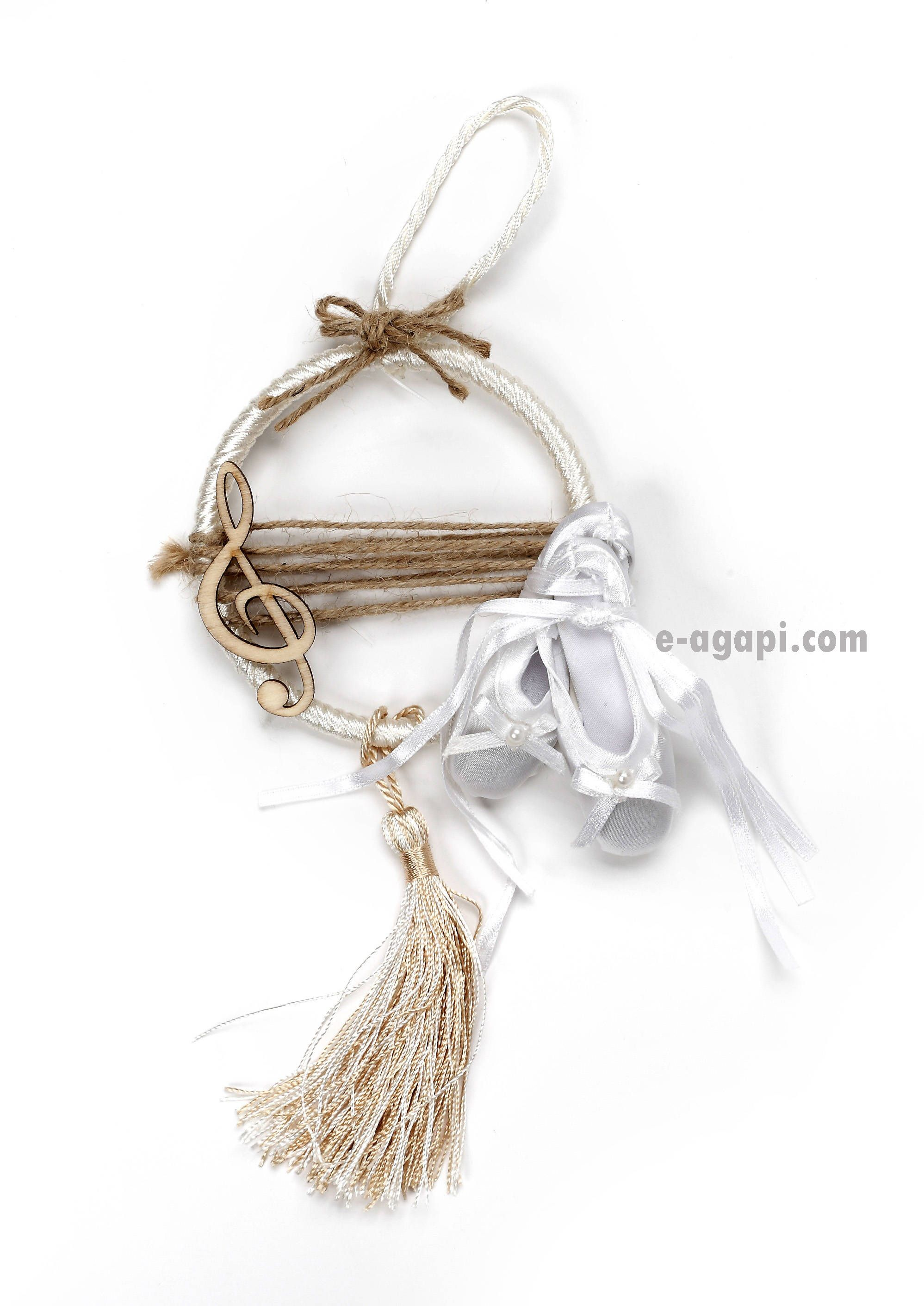 Ballet favors 30-100 Music wreath favors Girl baptism favors ...
