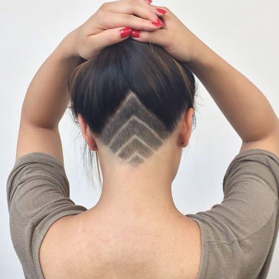 Undercut Shaved Designs for Women - Hair World Magazine