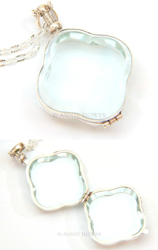 Glass locket! Love the idea of this... wonder what I should put in it? What would you put in this glass locket?
