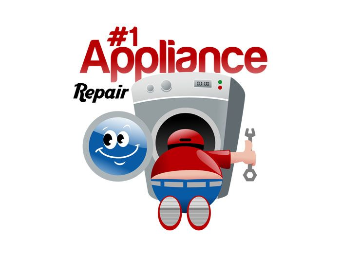 The Number 1 Appliance Repair Company Little Cartoon Man