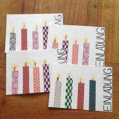 Kindergeburtstag: Einladungskarten selber basteln | Mamaclever.de