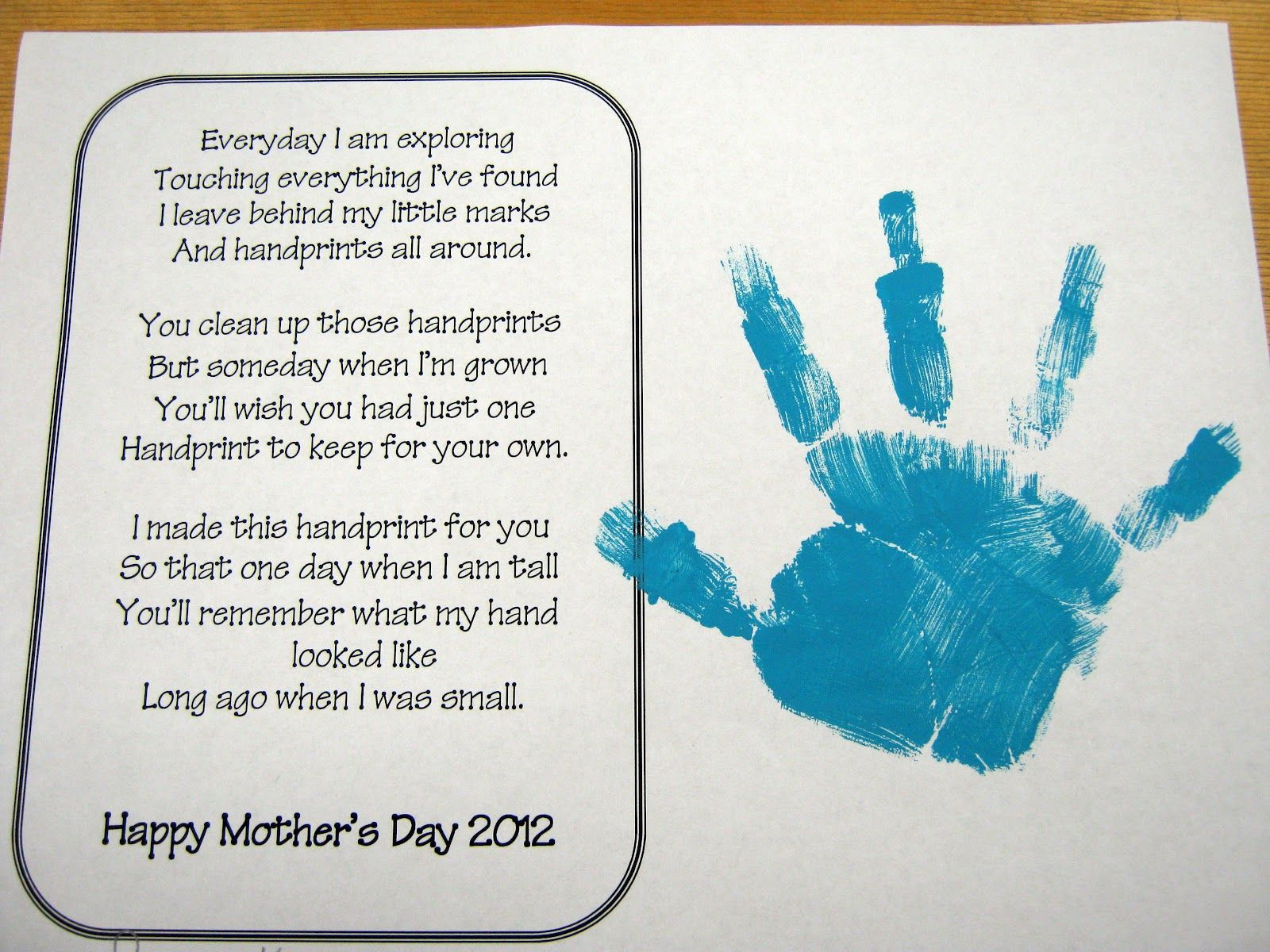 Mother S Day Poem Mothers Day Poems Mother S Day Projects