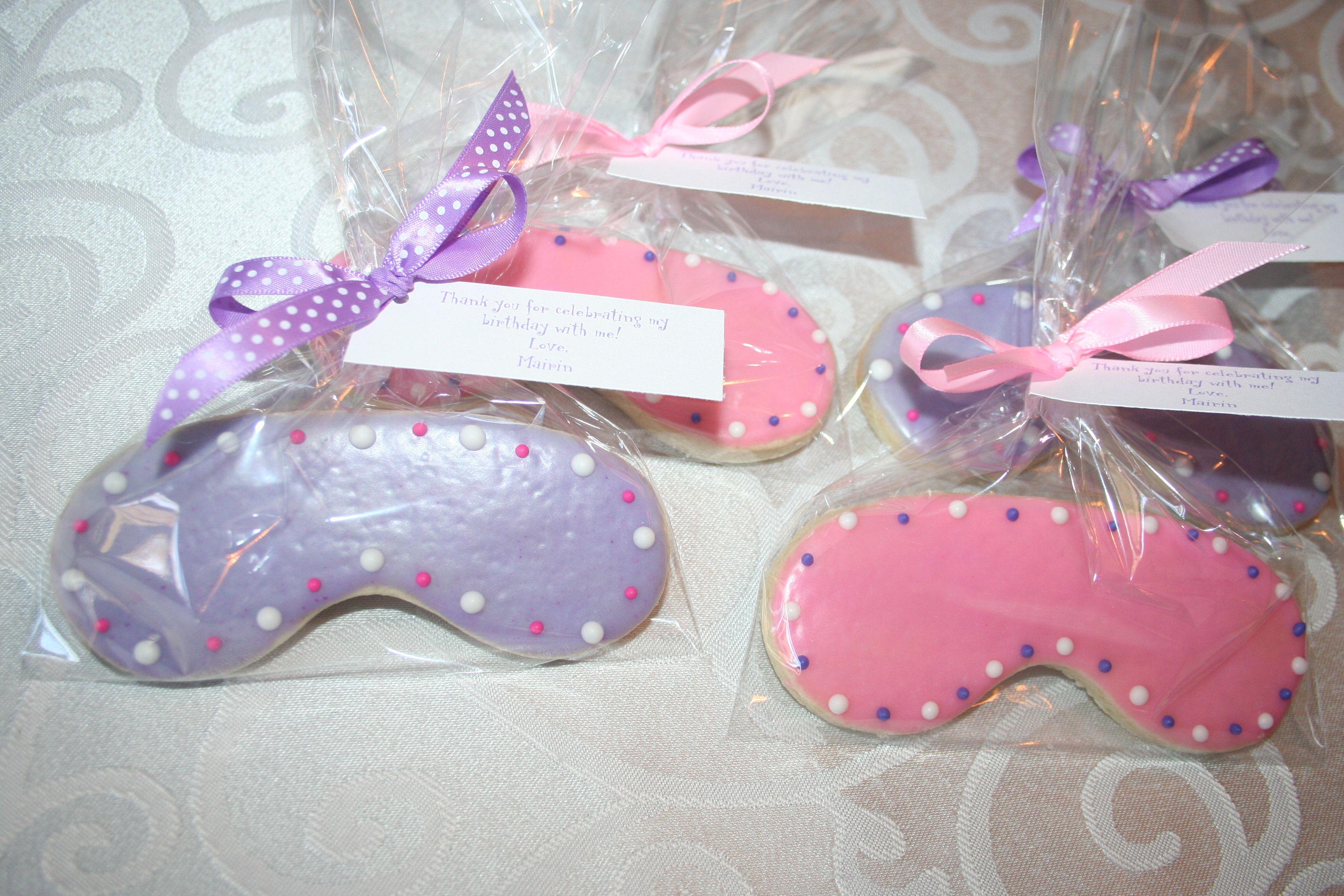 Sleeping Mask Organic Sugar Cookies | Amber\'s 2 Cute 2 Eat Organic ...
