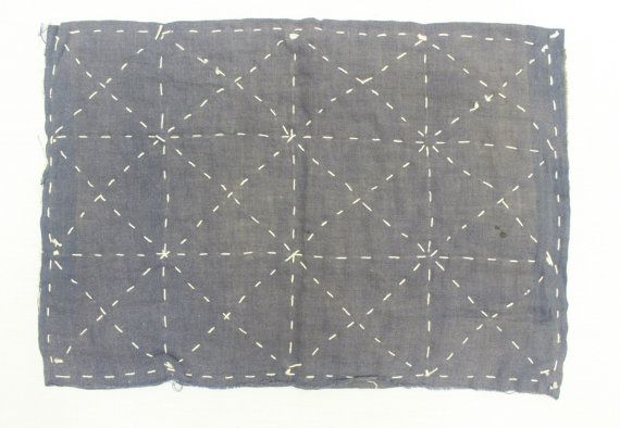 Japanese Zoukin Cloth. Antique Handmade Floor Cloth. by FurugiStar