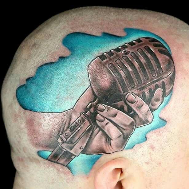 Boneface Ink Master Ink Master Season 8 Ink Master Head Tattoos