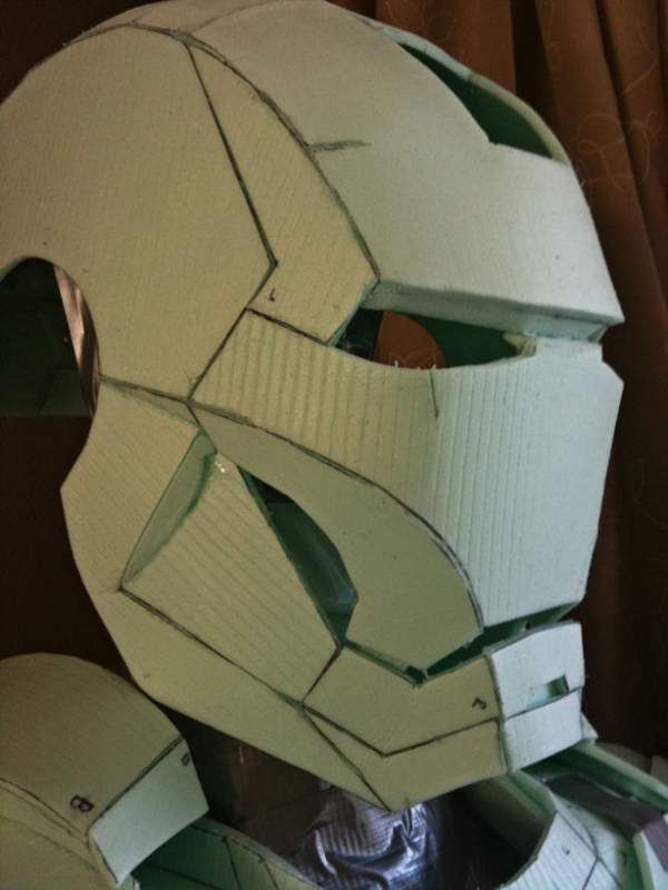 Ironman Easy Cut Foam Building Cosplay Iron Man Foam Armor