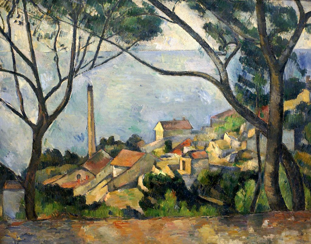 Paul Cézanne, Das Meer bei L'Estaque / The sea at L ...