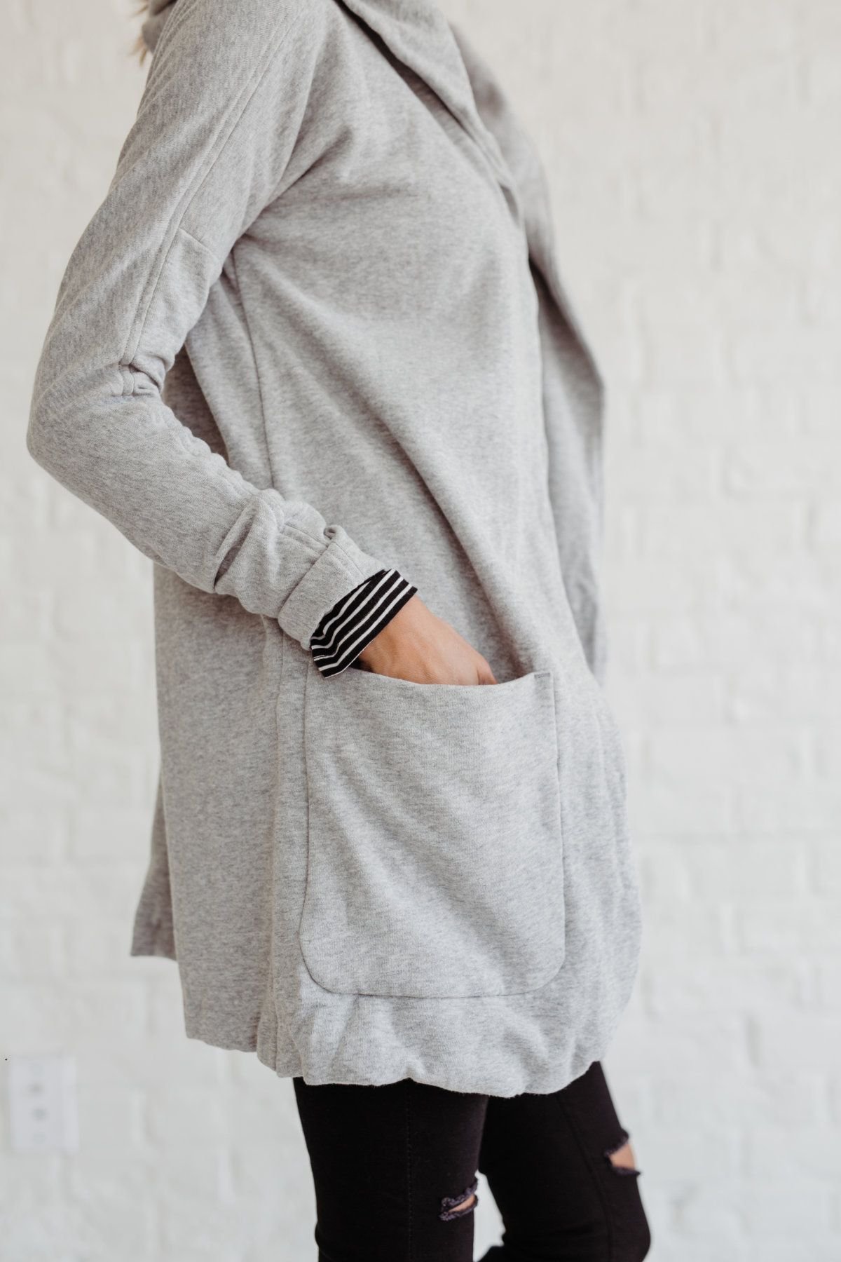 Thick Hooded Sweater | Hooded sweater and Stylish