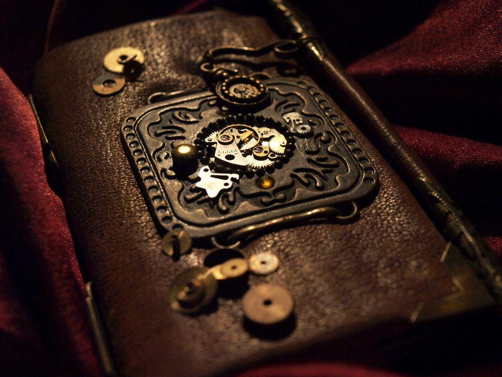 Steampunk leather case by Muflonius on DeviantArt