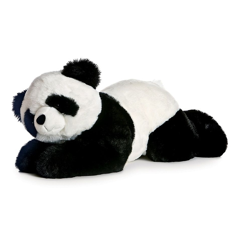 Predownload: Aurora World Super Flopsies Xie Xie Panda Plush Toy In Black White Bed Bath Beyond Panda Bear Teddy Bear Stuffed Animal Plush Stuffed Animals [ 956 x 956 Pixel ]