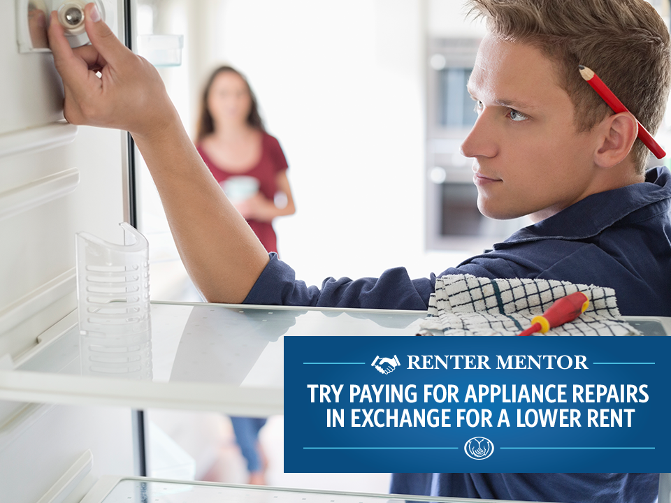 Who takes care of the appliances? Ask the RenterMentor