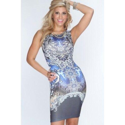 Fantasy Blue Dress Available now at  http://fashionsofthezodiac.com