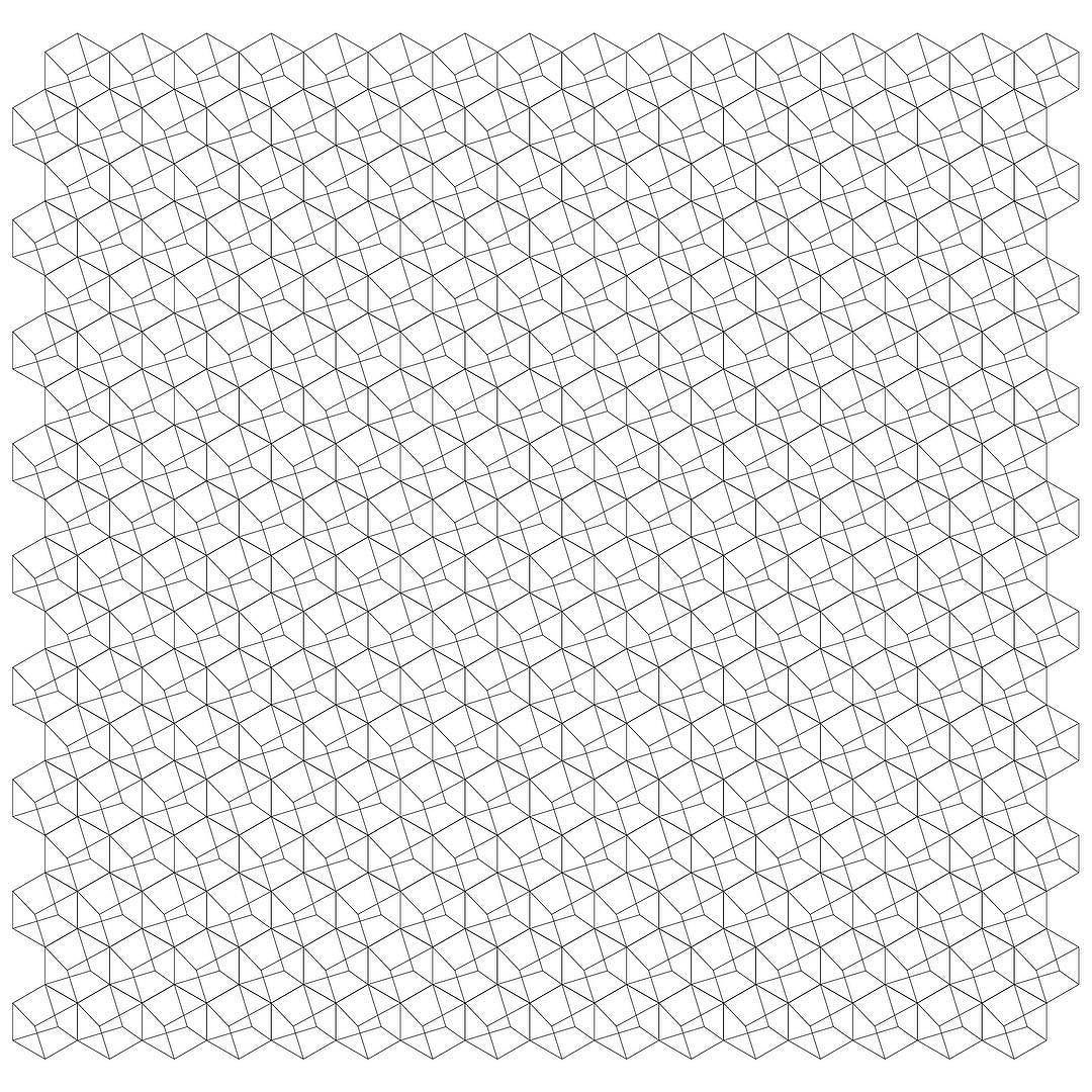 Gamut #pattern #grid #hexagons #lines #svg #freedownload